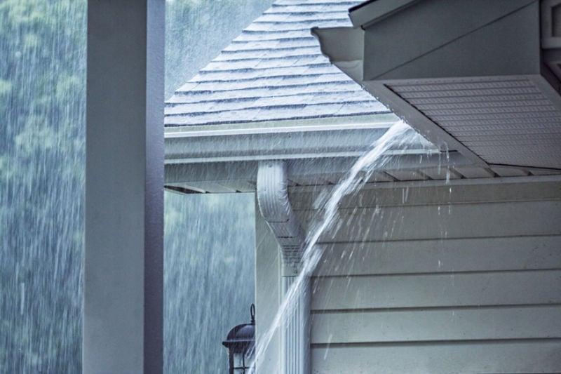 Drenching Rain Storm