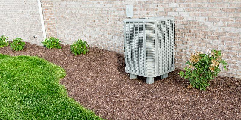 AC unit outside in Hudson