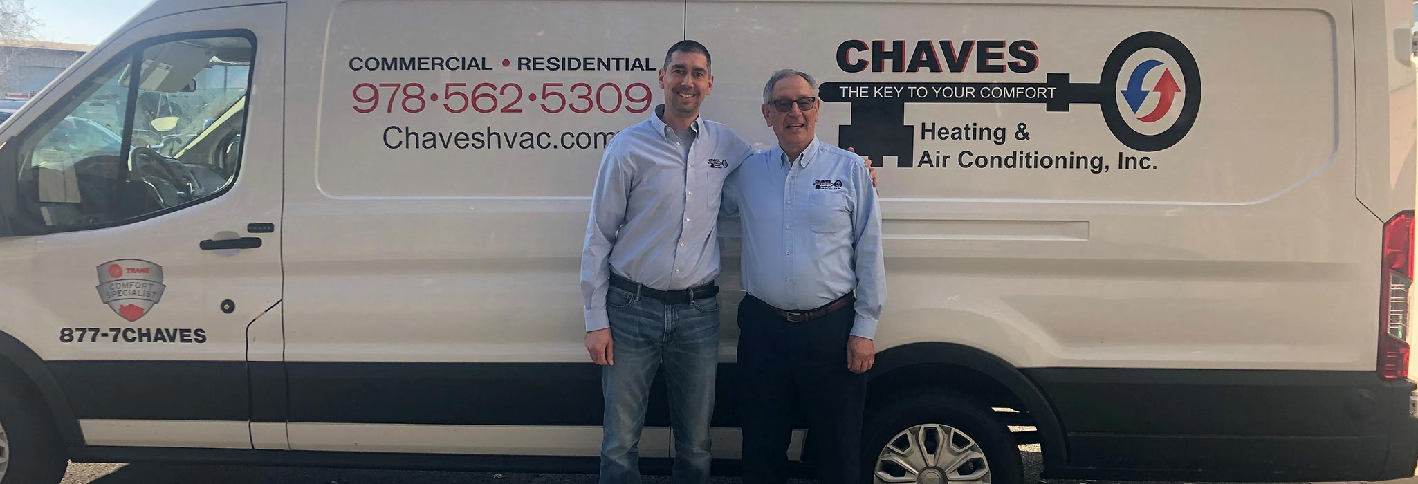 Manny & Andre Chaves | Chaves HVAC