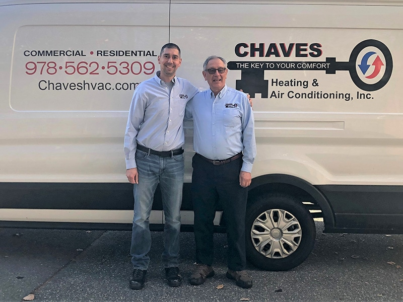 Manny and Andre Chaves | Chaves HVAC